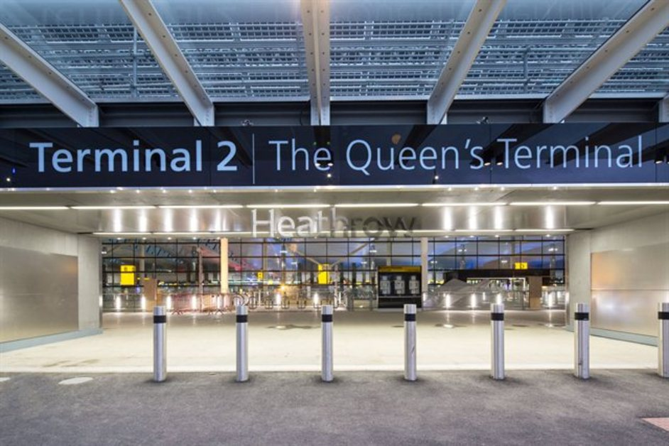 Heathrow Terminal 2 | The Queen's Terminal - photo by Steve Bates
