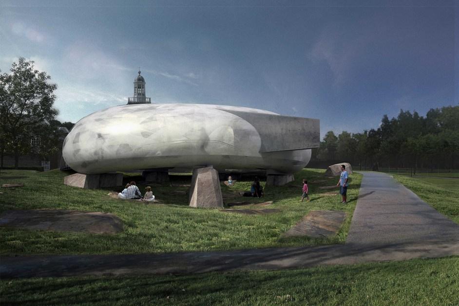 Serpentine Gallery Pavilion 2014: Smiljan Radic - Indicative CGI, copyright 2014 Smiljan Radic Studio