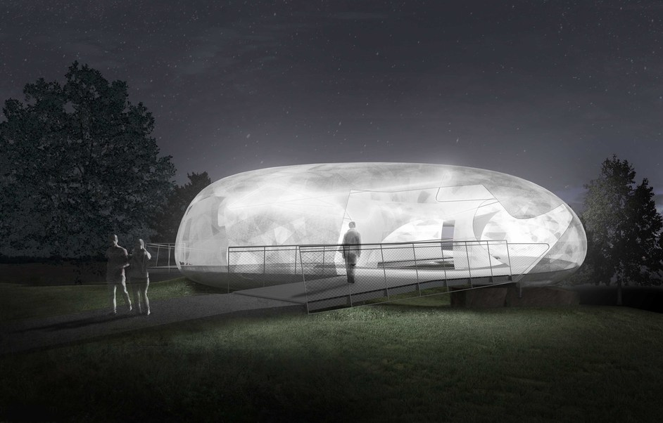 Serpentine Gallery Pavilion 2014: Smiljan Radic - Indicative CGI, copyright 2014 Smiljan Radic Studio