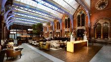 St Pancras Renaissance Afternoon Tea: Hansom Lounge