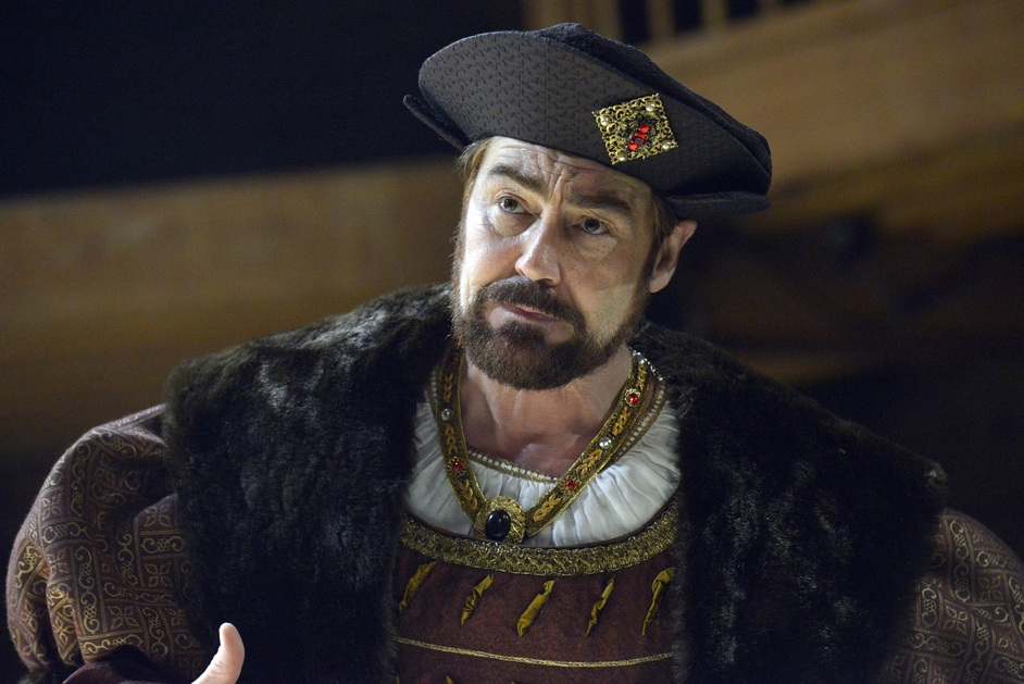 Wolf Hall - Nathaniel Parker (Henry VIII). Photographer Keith Pattison.