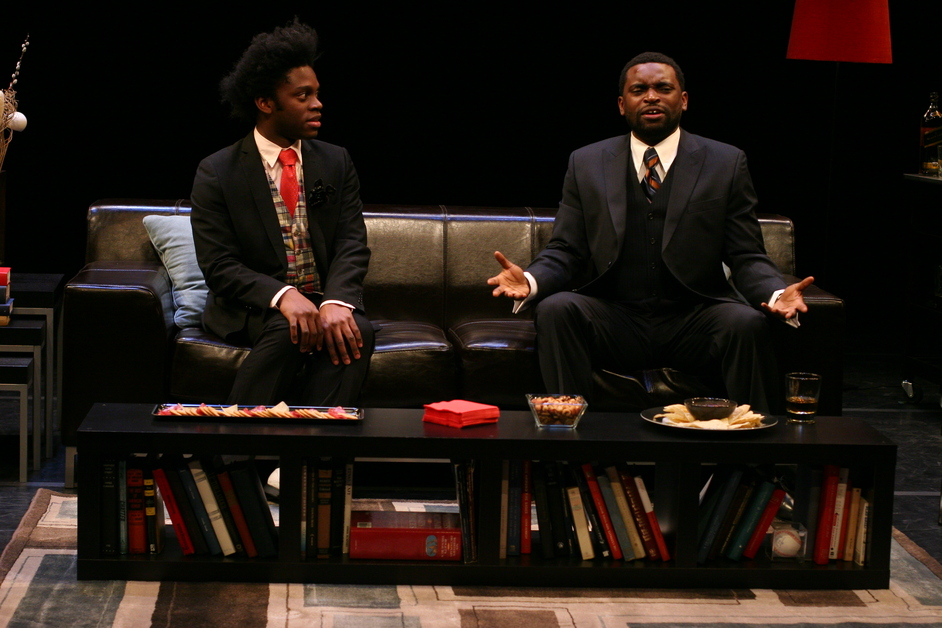 The Shipment - Young Jean Lee, The Shipment – Mikeah Jennings, Douglas Scott Streater – Photo credit: Paula Court