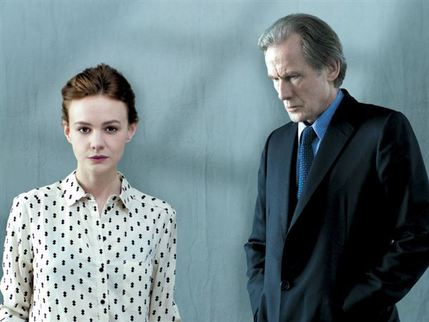Skylight - Carey Mulligan and Bill Nighy. Photo copyright Benjamin McMahon