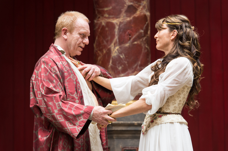 Antony and Cleopatra - Clive Wood and Eve Best, photographer Manuel Harlan