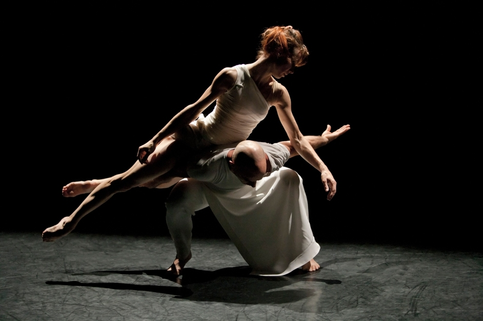 Sylvie Guillem & Russell Maliphant: PUSH - Sylvie Guillem and Russell Maliphant, PUSH. Photo by Johan Persson