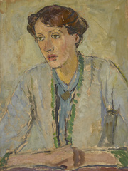 Virginia Woolf: Art, Life and Vision - Virginia Woolf by Vanessa Bell, courtesy Henrietta Garnett by National Trust