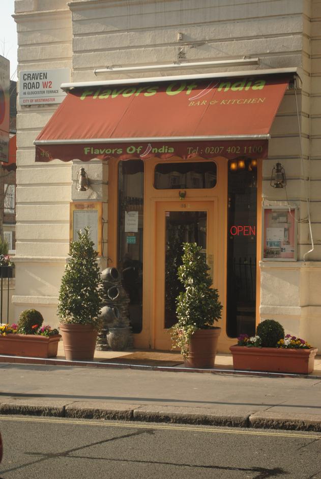 Indian Restaurants Near Paddington London