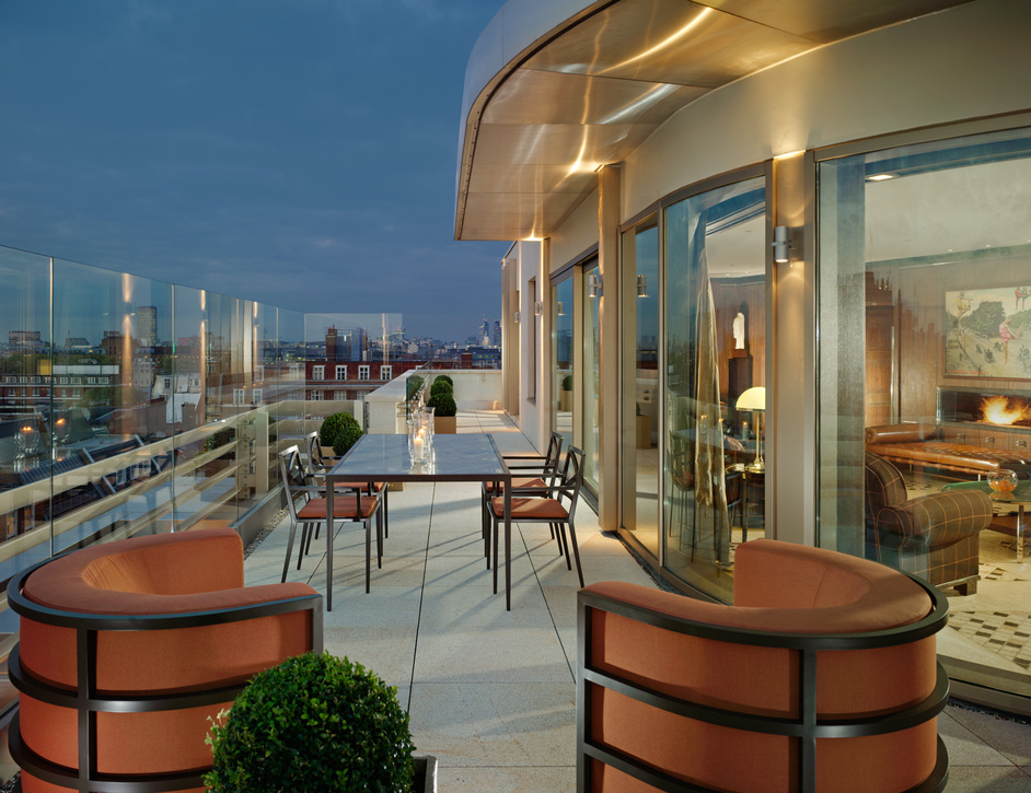 45 Park Lane - Penthouse Terrace