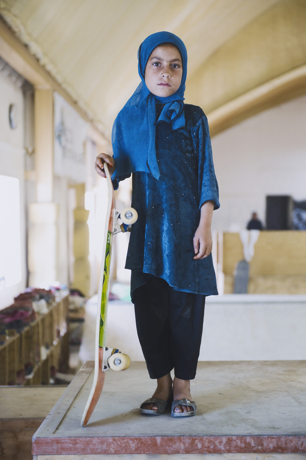 Taylor Wessing Photographic Portrait Prize - Skate Girl by Jessica Fulford-Dobson, 2014. Copyright: Jessica Fulford-Dobson