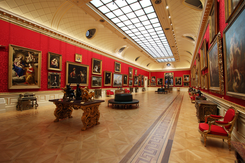 Wallace Collection - The Great Gallery, 2014. Image: the Trustees of the Wallace Collection
