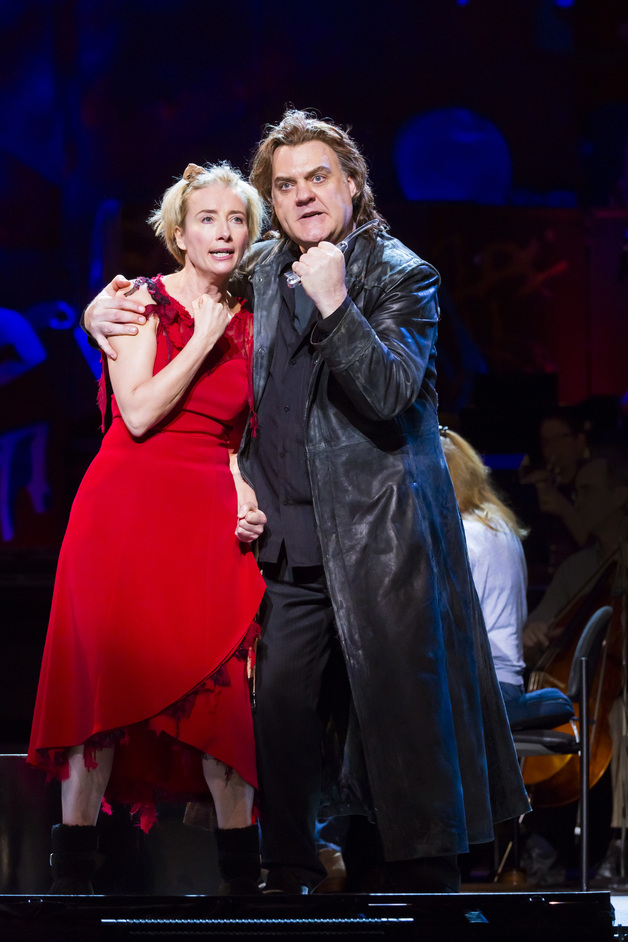 Sweeney Todd: The Demon Barber of Fleet Street, A Musical Thriller - Emma Thompson and Bryn Terfel. Photo credit: Chris Lee