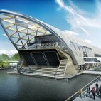 Canary Wharf Crossrail Station hotels title=