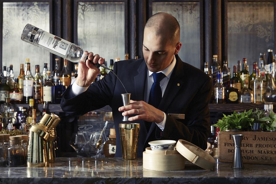 Gong - Head Bartender Christian Maspes, Shangri-La Hotel, At The Shard