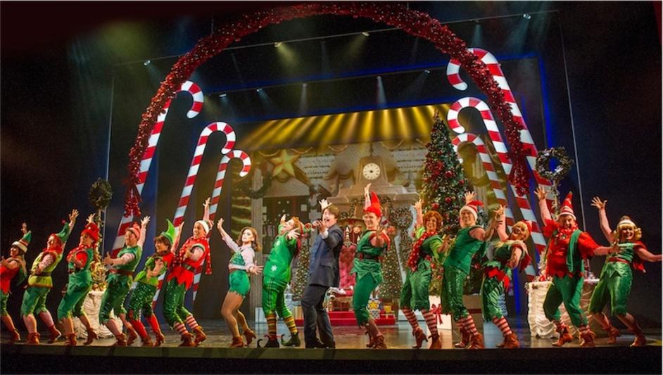 Elf the Musical - Photograph by Alastair Muir