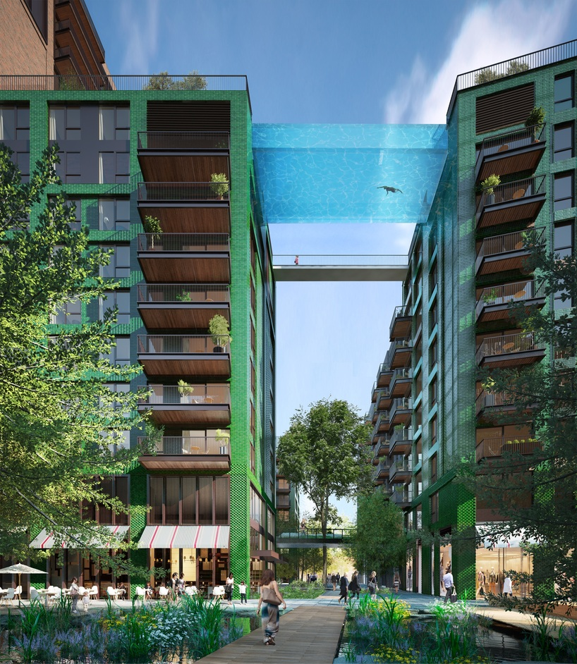 Sky Pool at Embassy Gardens - Sky Pool at Embassy Gardens by Eco World Ballymore