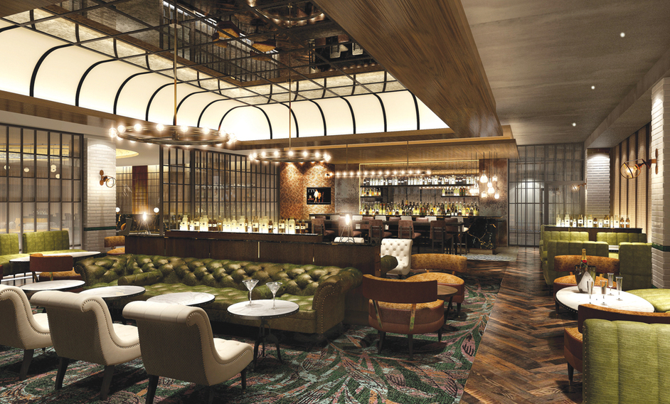The Distillery - Hilton London Bankside, The Distillery bar, Dexter Moren Associates