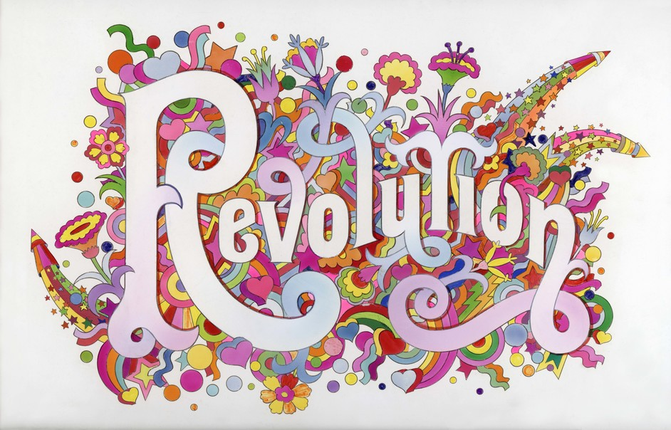 You Say You Want a Revolution: Records & Rebels 1966-70 - The Beatles Illustrated Lyrics, (c) Iconic Images, Alan Aldridge