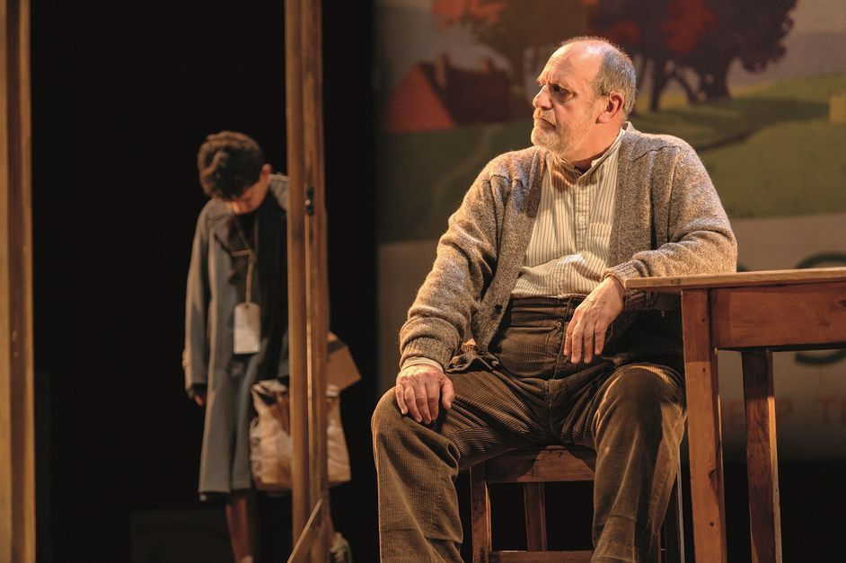 Goodnight Mister Tom - Alex Taylor-McDowall and David Troughton. Photo Dan Tsantilis