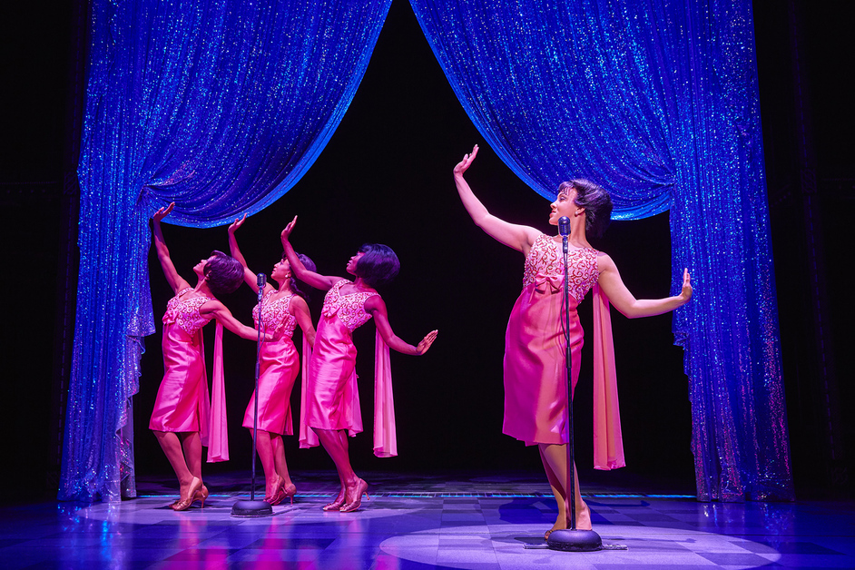 Beautiful - The Carole King Musical - The Shirelles, photo by Brinkhoff Moegenburg