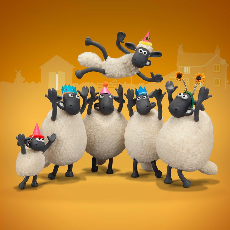 Easter Egg Hunt at Kew: Shaun the Sheep - Copyright: Aardman