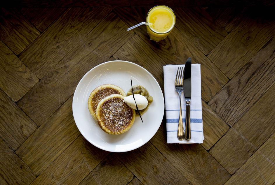 Tom's Kitchen St Katharine Docks - Pancakes