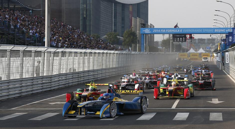 FIA Formula E Championship  - The opening Formula E race in Beijing