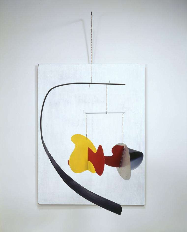 Alexander Calder: Performing Sculpture - Alexander Calder, White Panel 1936 © ARS, NY and DACS, London 2014