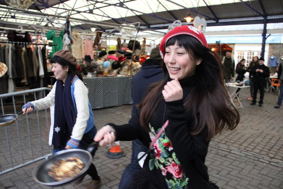 Greenwich Market Pancake Races