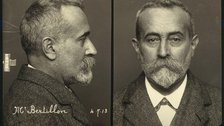 Forensics: The Anatomy of Crime - Alphonse Bertillon, 1913 by Wellcome Library, London