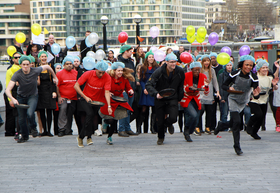 Flipping Marvellous Pancake Race