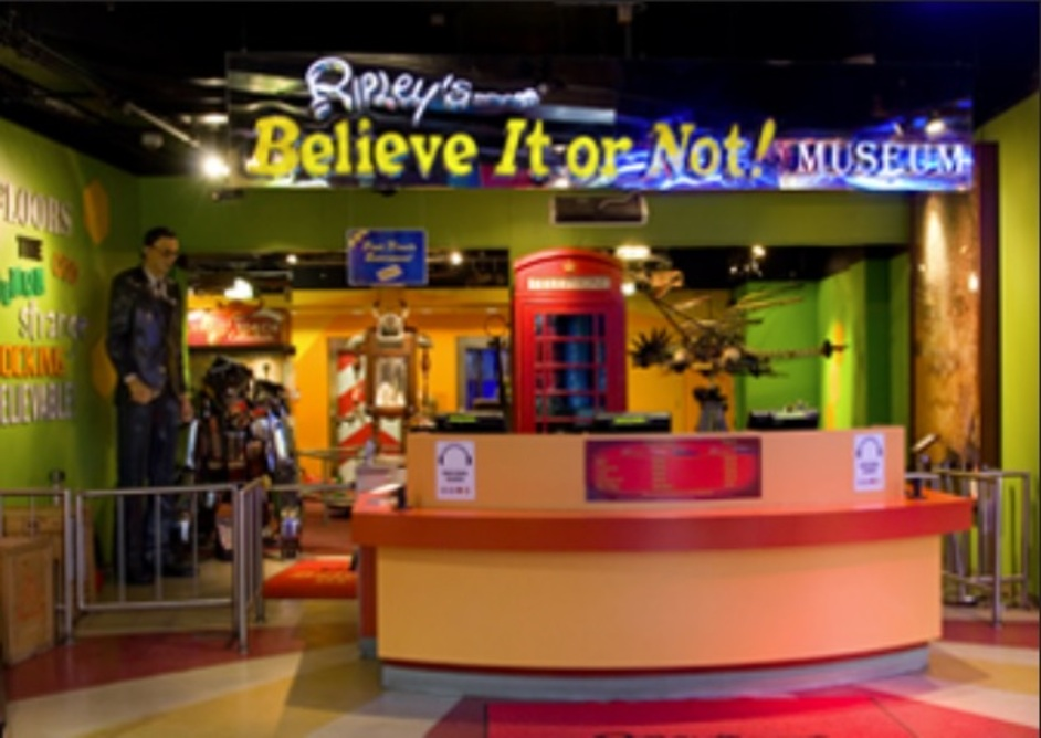 Ripley's Believe It Or Not! Museum London