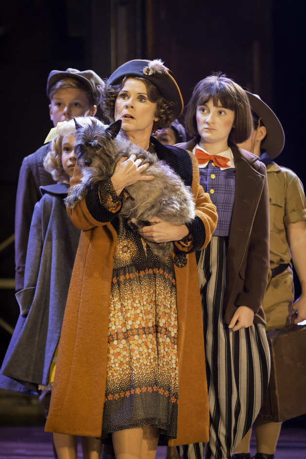 Gypsy - Imelda Staunton (Momma Rose) in Gypsy. Photo Johan Persson