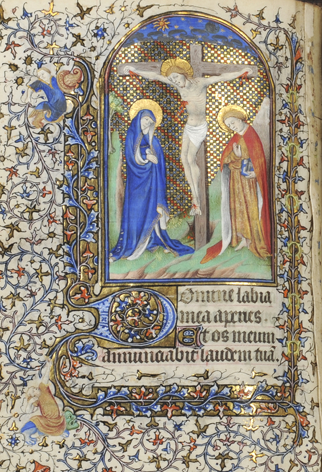 Cotton to Gold: Extraordinary Collections of the Industrial North West - Book of Hours, c.1410-20, Northern French. Blackburn Museum and Art Gallery