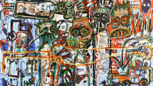 Pangaea II: New Art from Africa and Latin America - Aboudia, Untitled, 2013