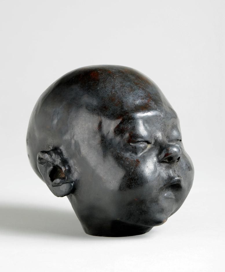 Sir Jacob Epstein: Babies And Bloomsbury - Sir Jacob Epstein, Baby Asleep, 1904, bronze
