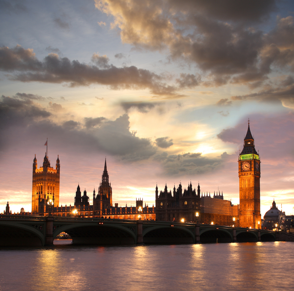 London by Night Open Top Bus  - 7pm Tour