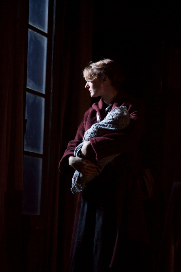 Table - Jo Herbert (Rose King) in 3 Winters. Photo by Ellie Kurttz