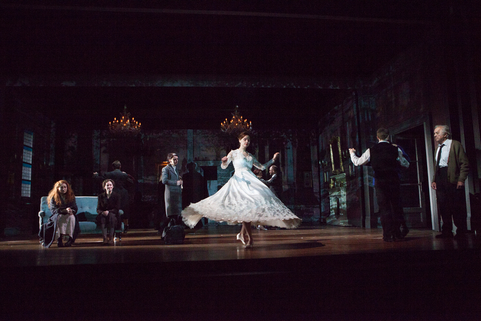 Table - The company of 3 Winters. Photo by Ellie Kurttz