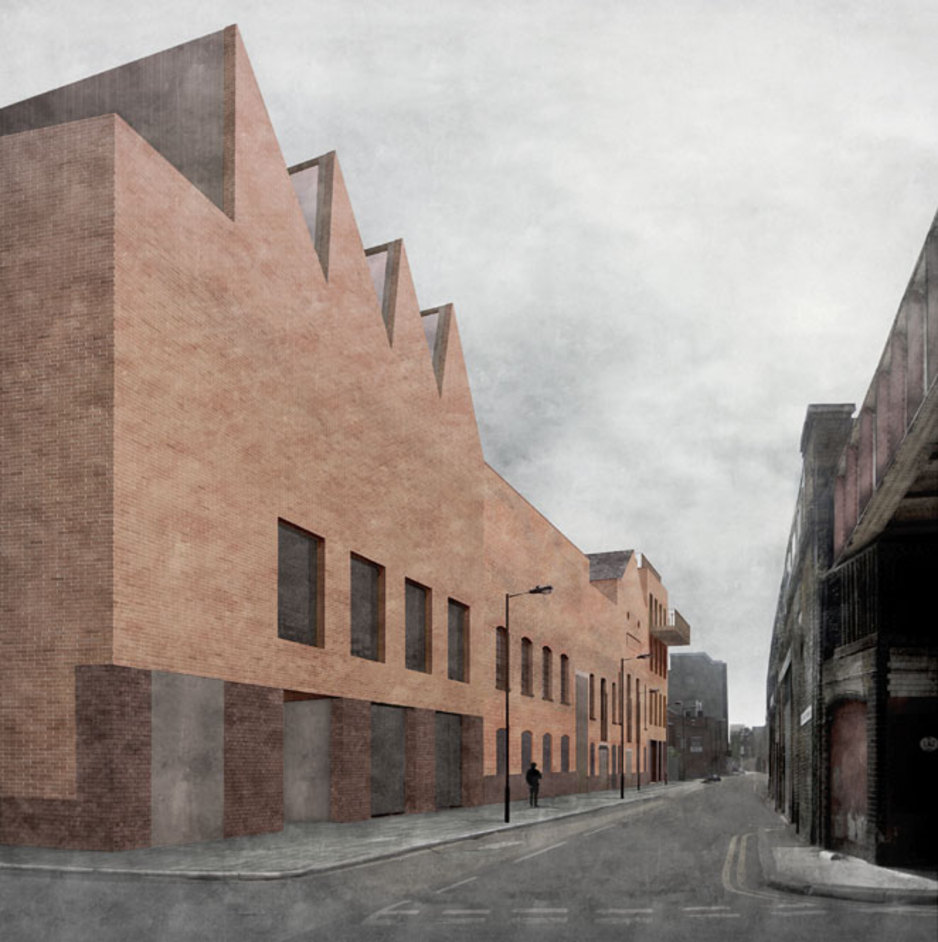 Newport Street Gallery - copyright Caruso St John