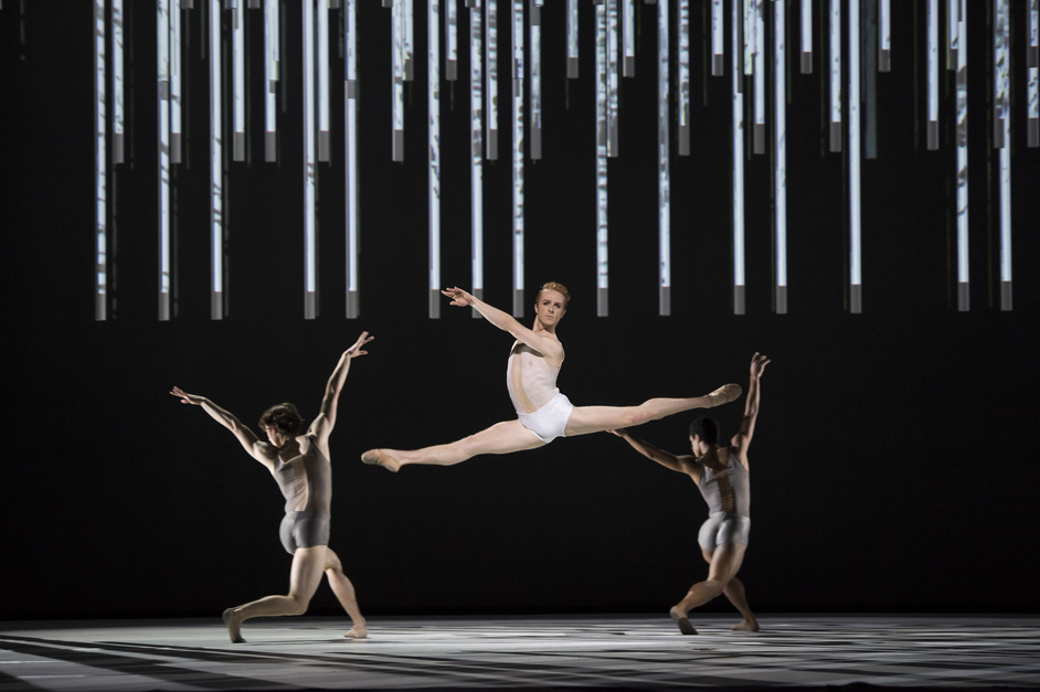 Connectome / Raven Girl - Connectome. Royal Opera House. Photograph by Bill Cooper