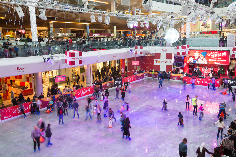westfield london ice rink images. Black Bedroom Furniture Sets. Home Design Ideas