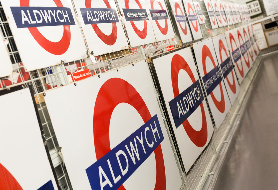 Depot Open Weekend: A Logo for London - Photo courtesy of London Transport Museum