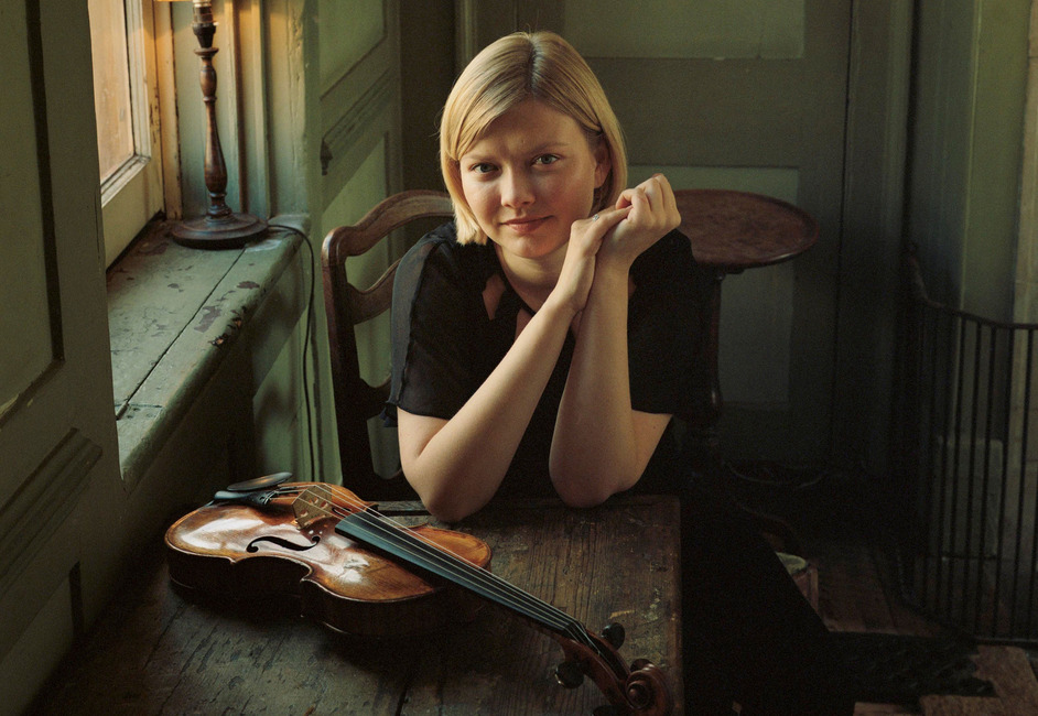 Prom 19: Alina Ibragimova Plays Bach 1 - Alina Ibragimova performs at four Proms concerts in 2015. Photo: BBC/Eva Vermandel