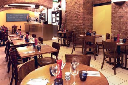 Pizzaexpress Leadenhall Leadenhall Market London