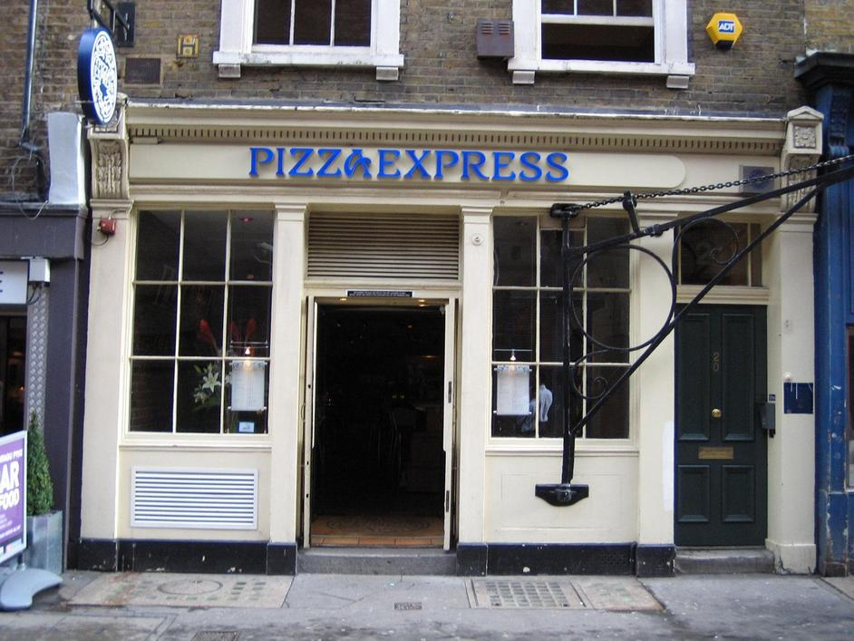 PizzaExpress Greek St