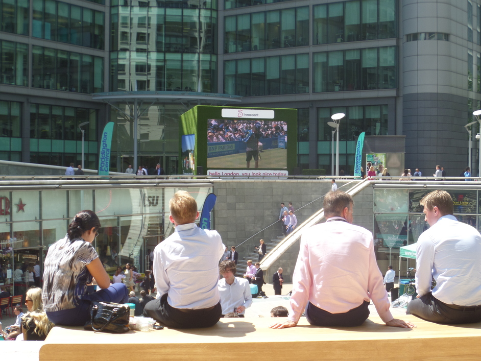 Wimbledon At Paddington Central At Paddington Central