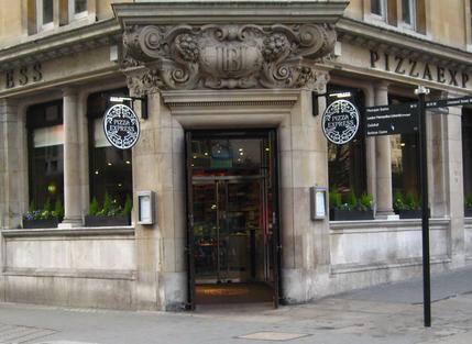 Pizzaexpress London Finsbury Circus