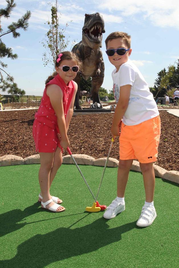Jurassic Falls Adventure Golf