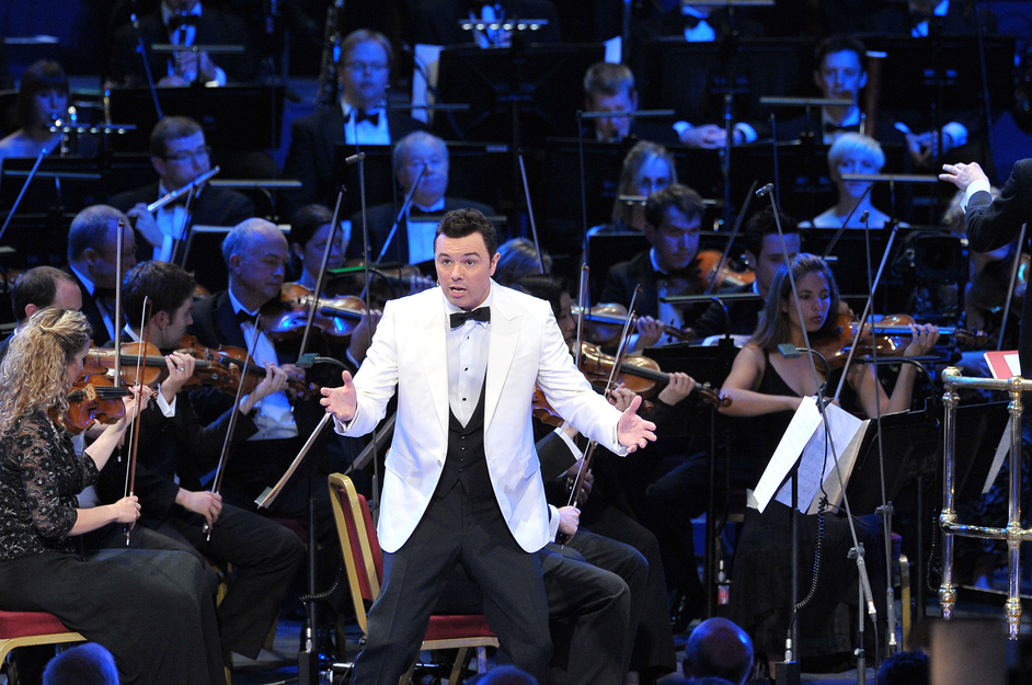 Prom 30: The John Wilson Orchestra Performs Frank Sinatra - Seth MacFarlane, photo (c) BBC/Chris Christodoulou