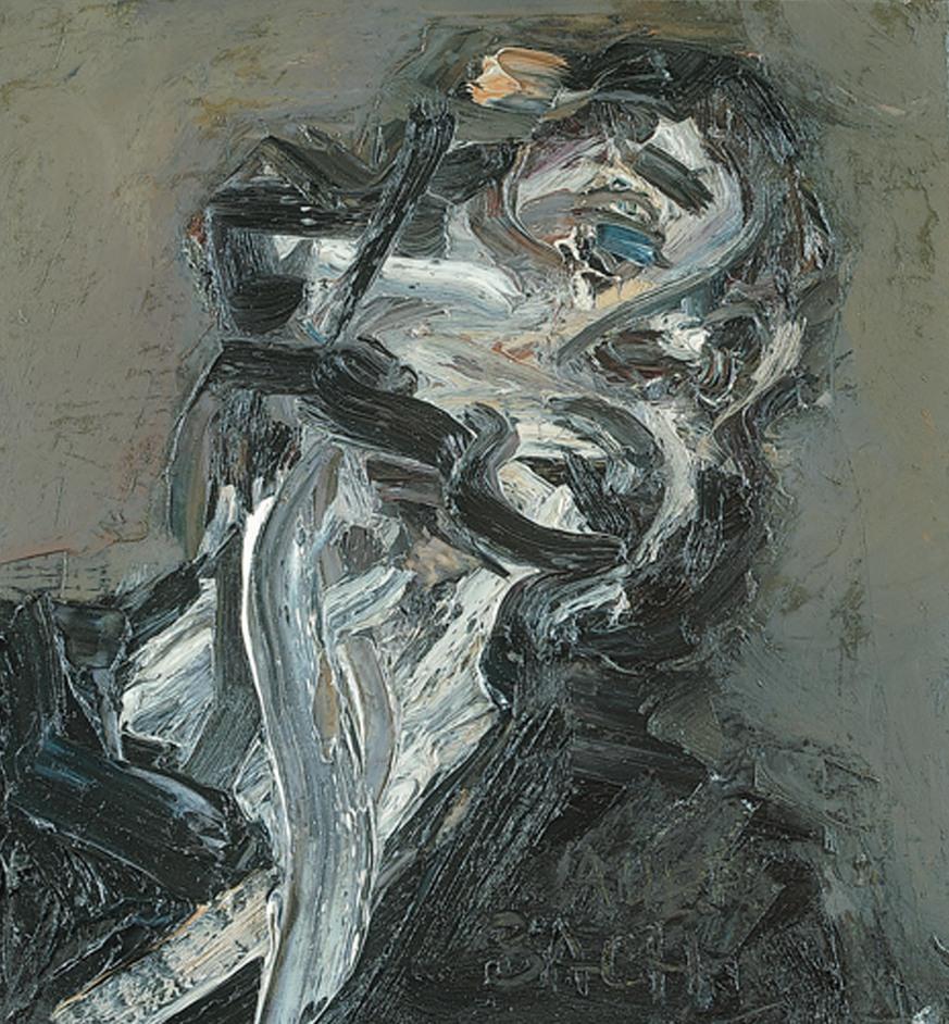 Frank Auerbach - Frank Auerbach, Head of J.Y.M II, 1984-85 (c) Frank Auerbach